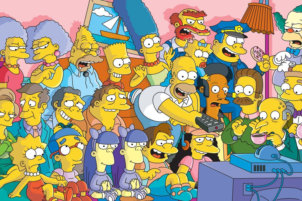 Simpsons förnyas med två säsonger