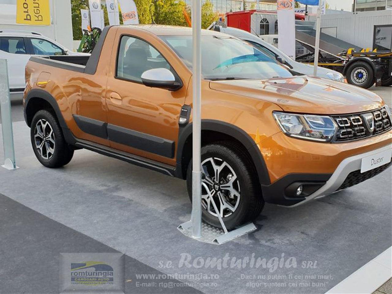 Dacia Duster kommer som pickup