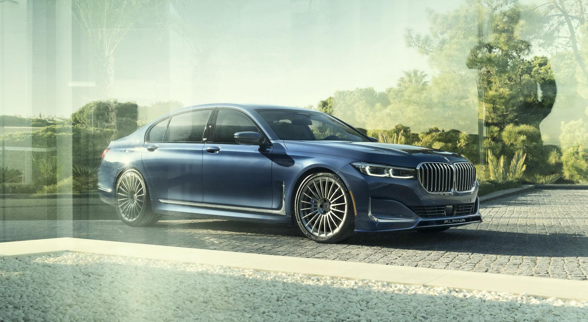 Alpina har redan varit på uppdaterade BMW 7-serie