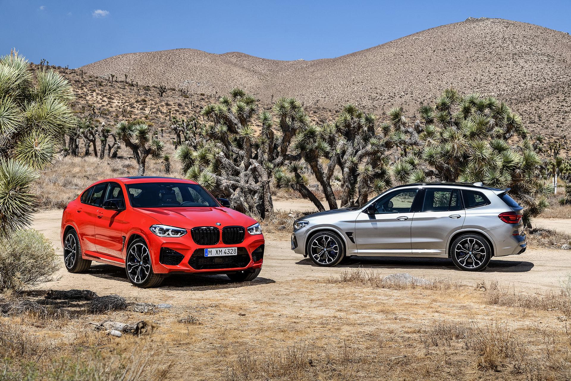 Nu är M-versionerna av BMW X3 och X4 här