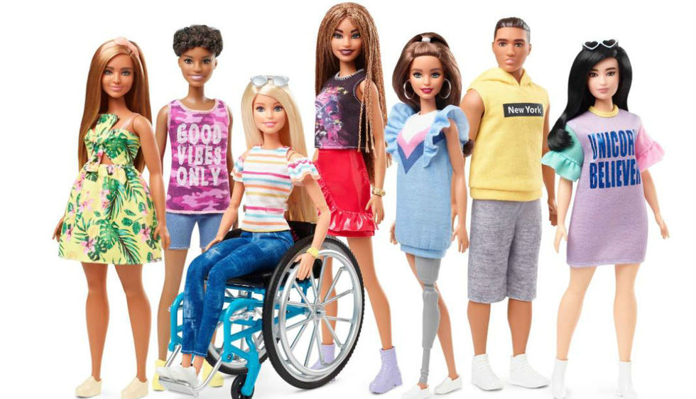 Mattel presenterar Barbie i rullstol