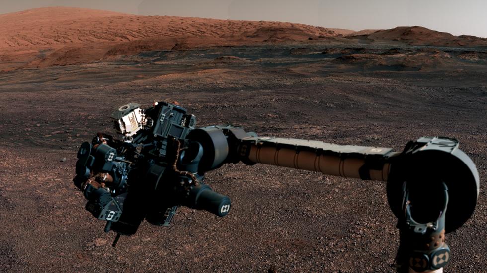 Curiosity rullar vidare mot nya mål