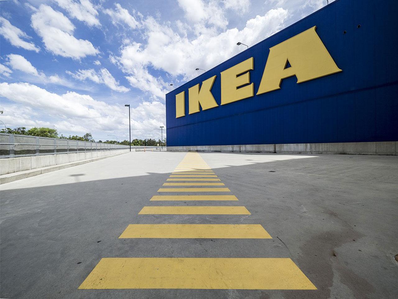 IKEA verkar ha omfattande möbelsajt på ingång