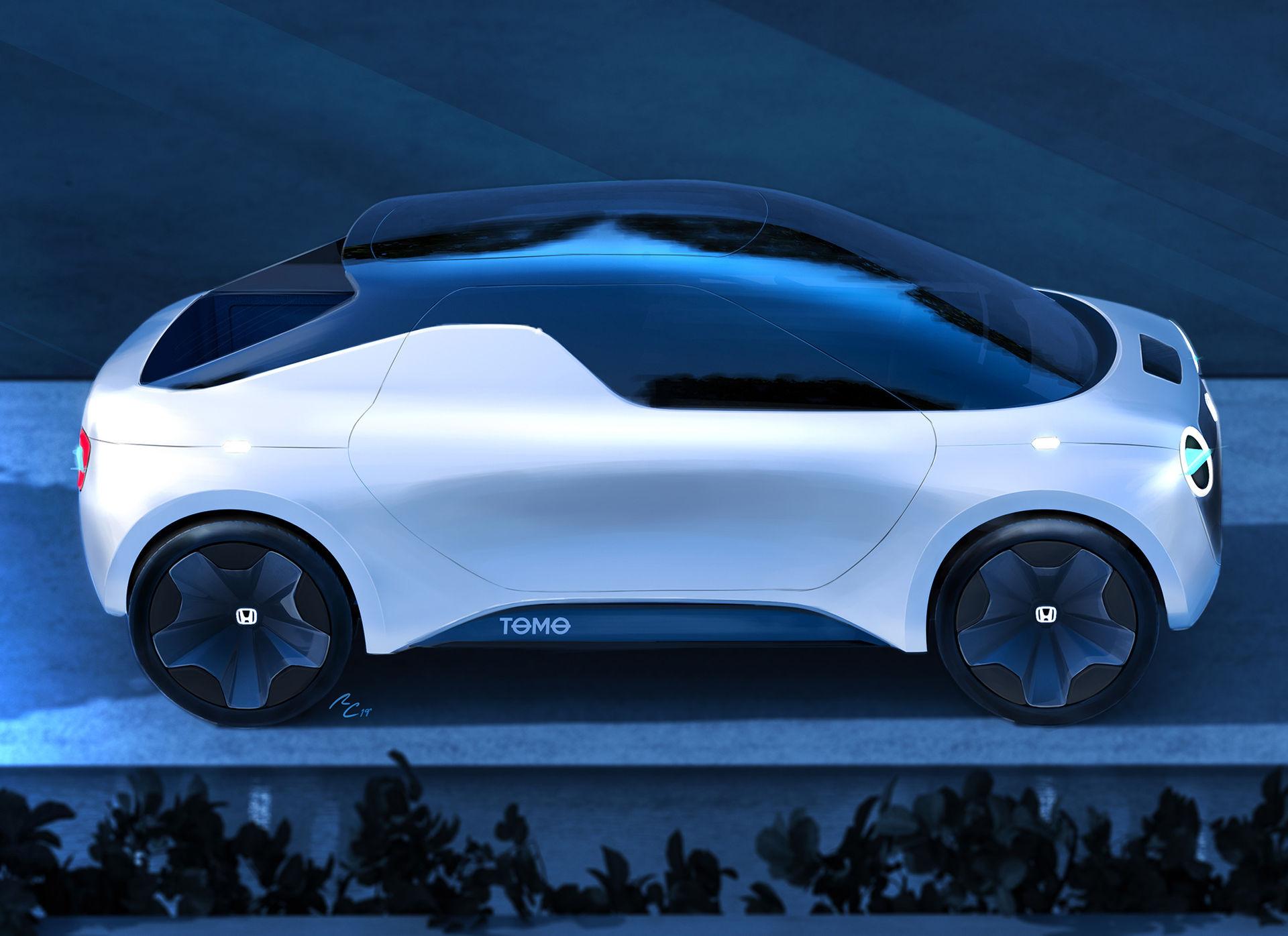 Tomo - ytterligare ett elbilskoncept från Honda