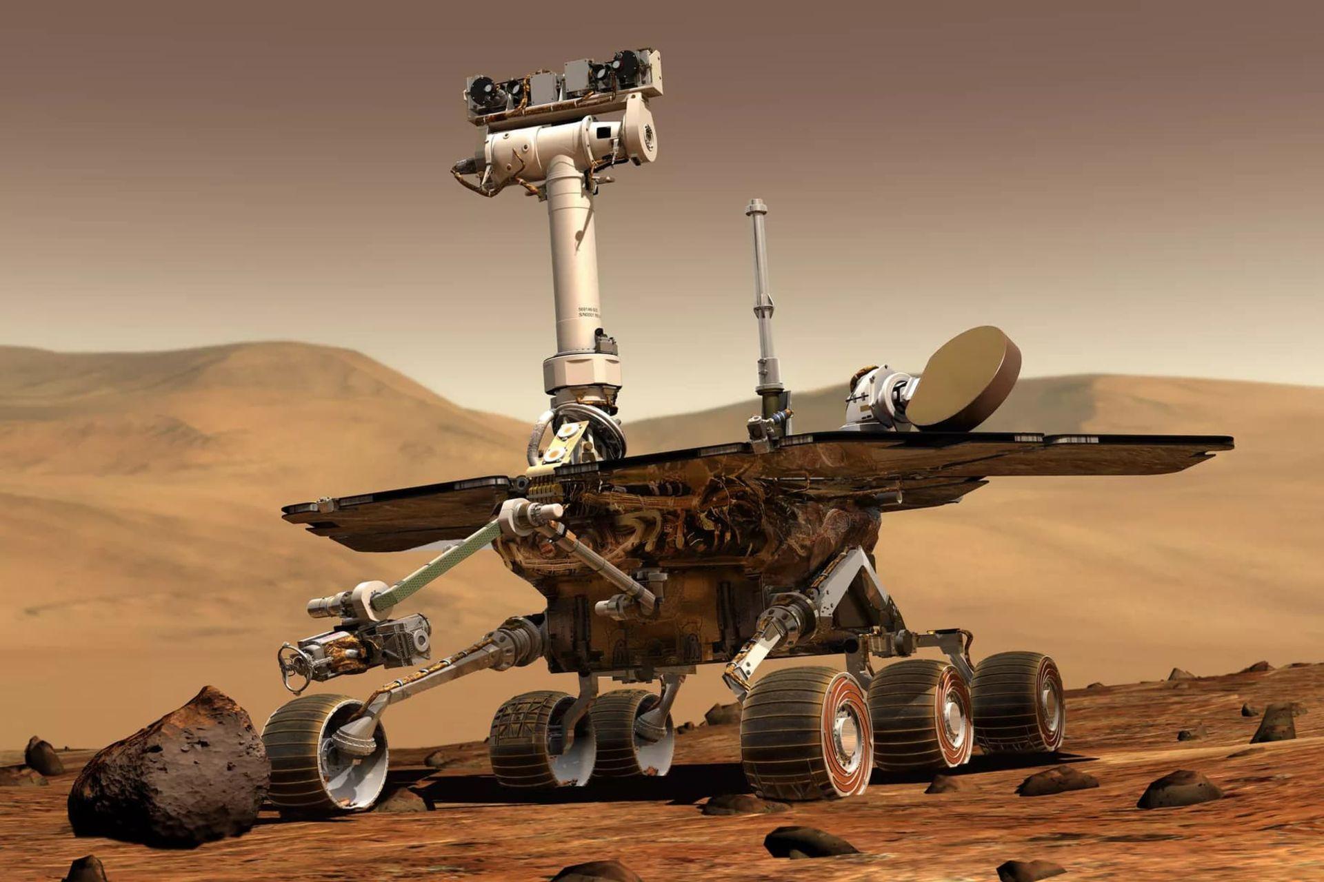 NASA säger hejdå till Opportunity