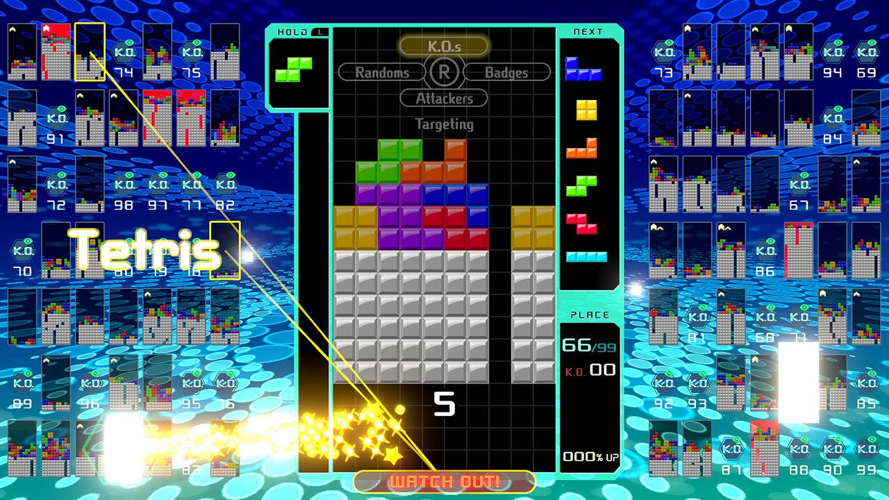 Nintendo presenterar Tetris 99