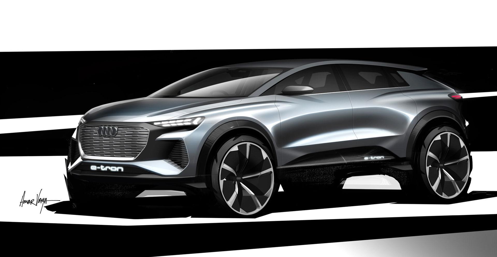 Audi visar Q4 e-tron concept