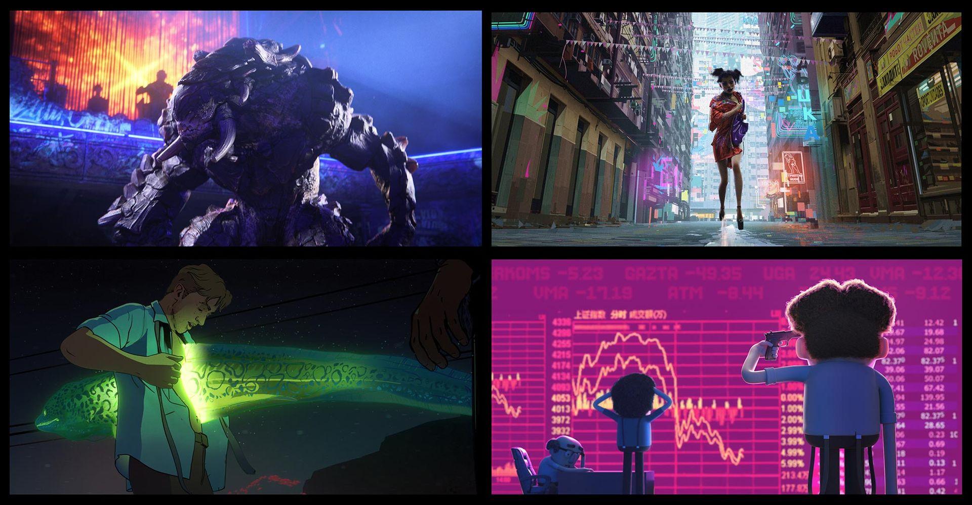 Trailer för David Finchers LOVE DEATH + ROBOTS
