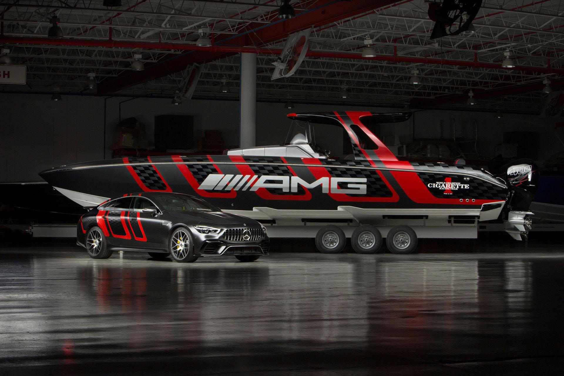 En båt som matchar din fyrdörrars GT 63 S