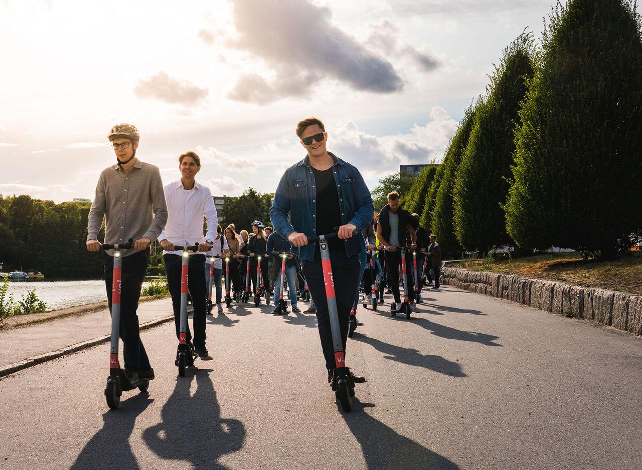 Stockholm börjar förbereda sig för sparkcykel-invasion