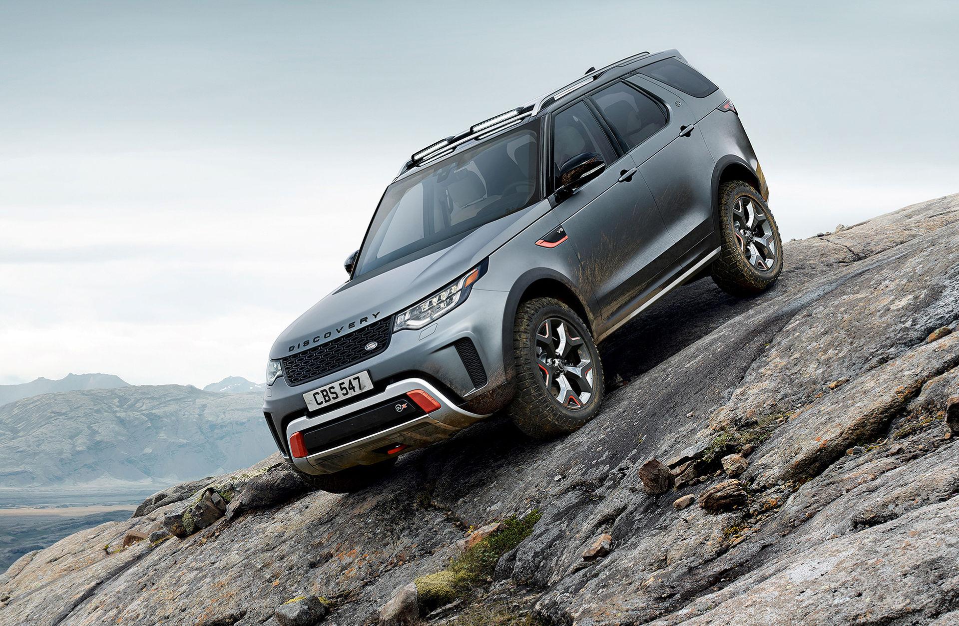 Land Rover drar ur pluggen för Discovery SVX