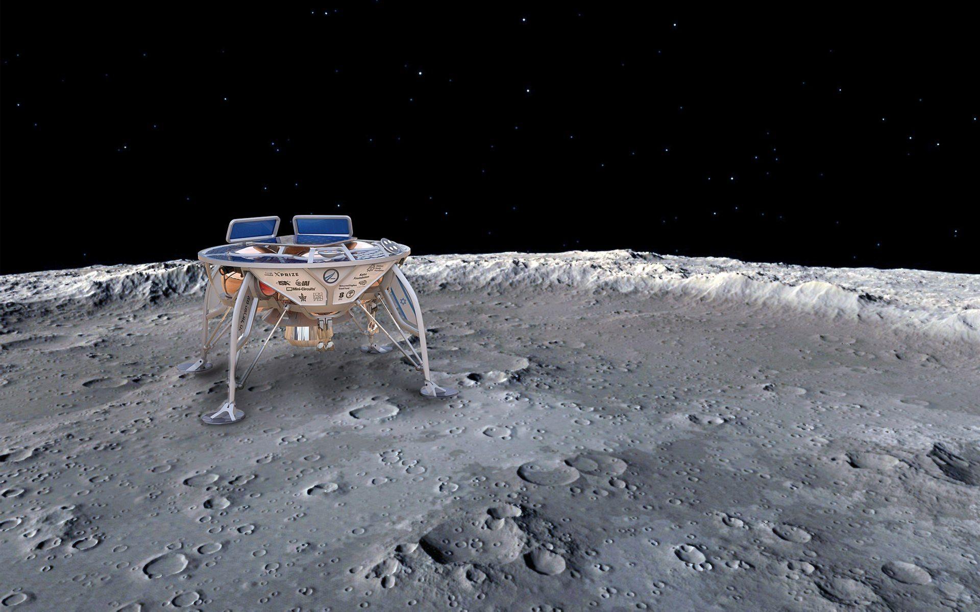 Israel siktar på att bli fjärde nationen som mjuklandar på månen