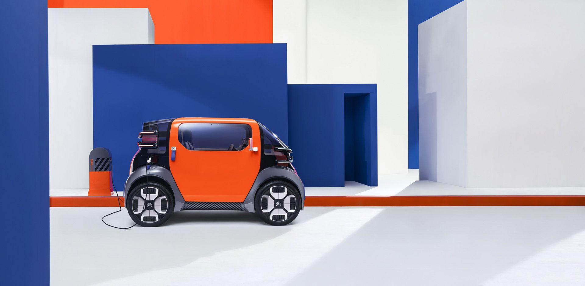 Ami One - eldrivet koncept från Citroën som toppar 45 km/h