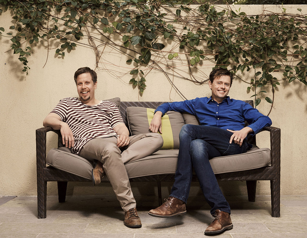 Filip och Fredrik ska göra tv-programmet Alla mot alla