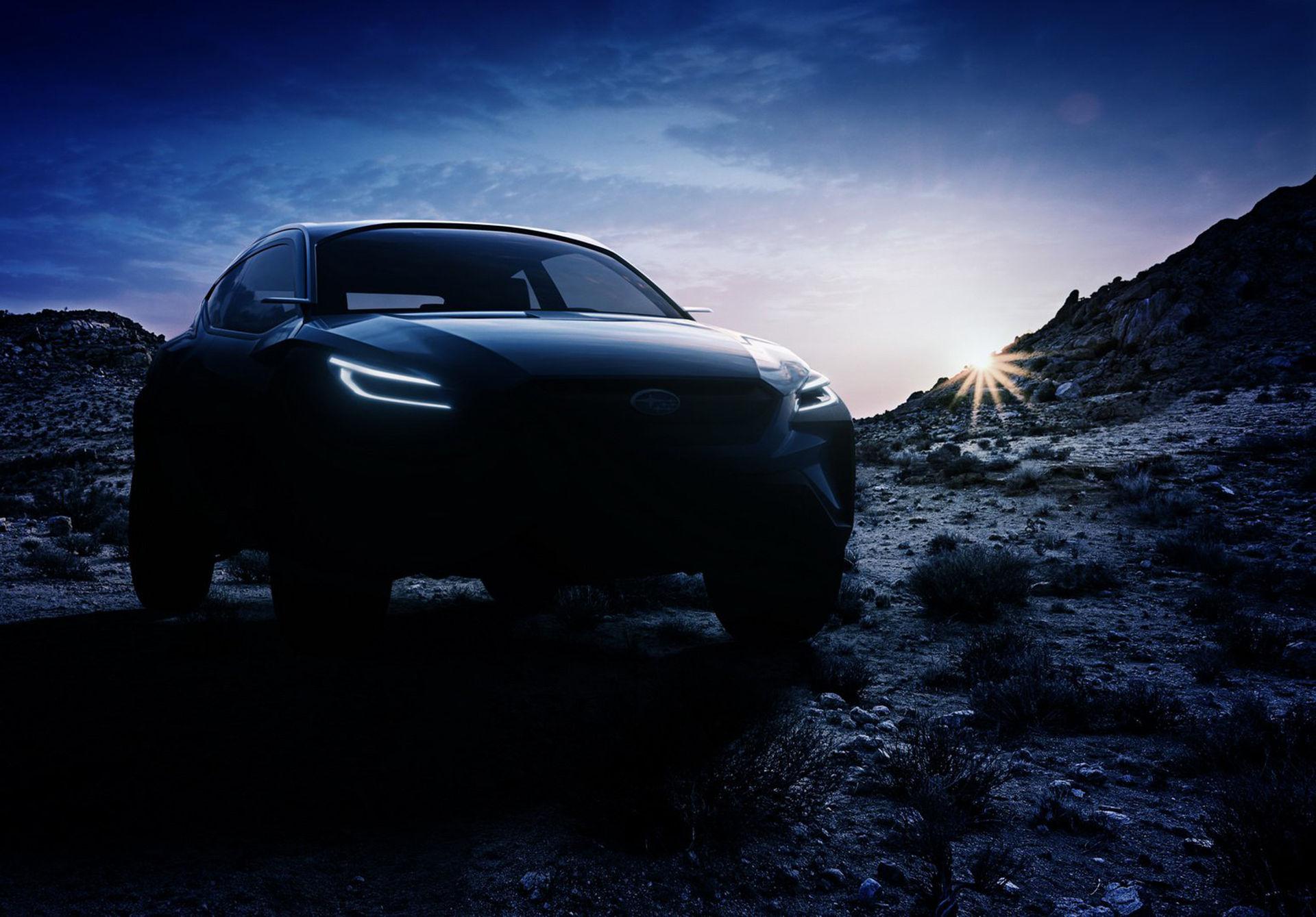 Nytt Viziv-koncept från Subaru