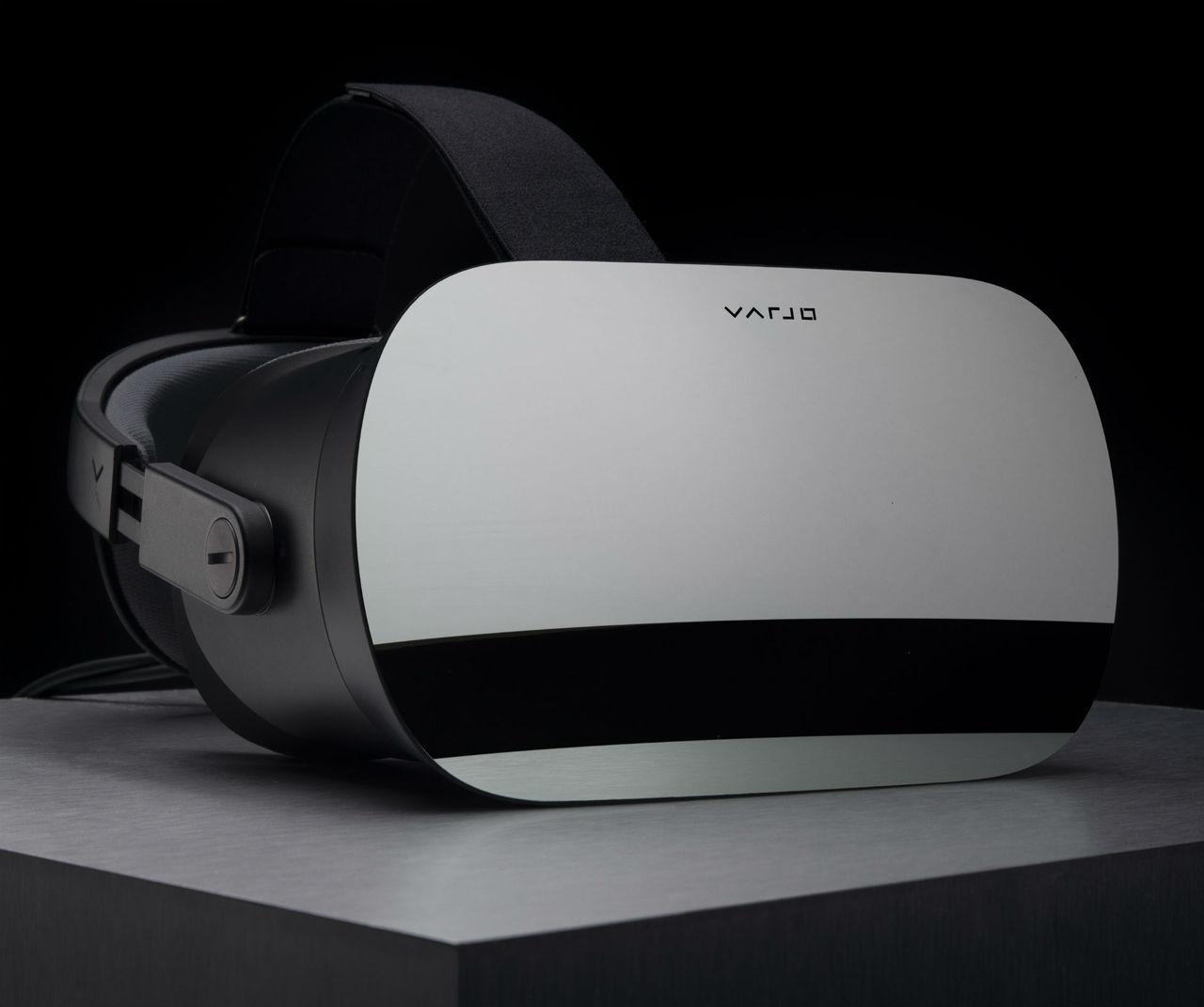 Varjo visar VR-headset med extremt hög upplösning