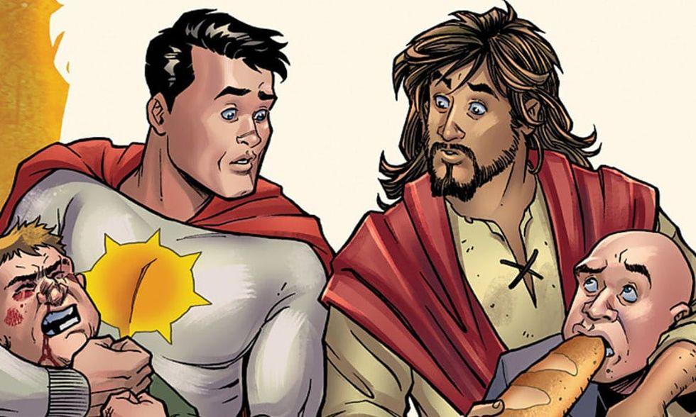 DC Comics skrotar planer på serietidning om Jesus