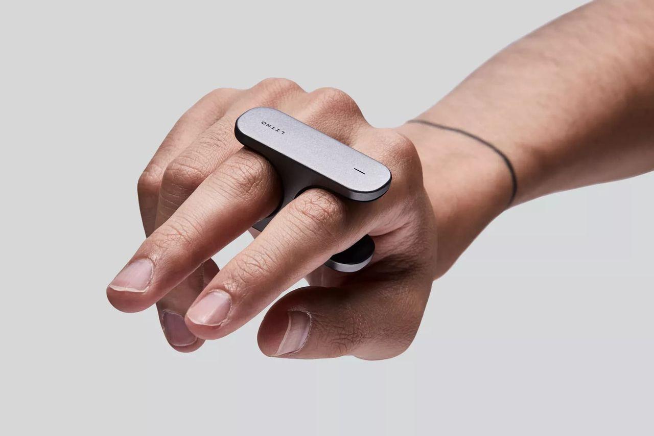 Litho är en handkontroll för augmented reality