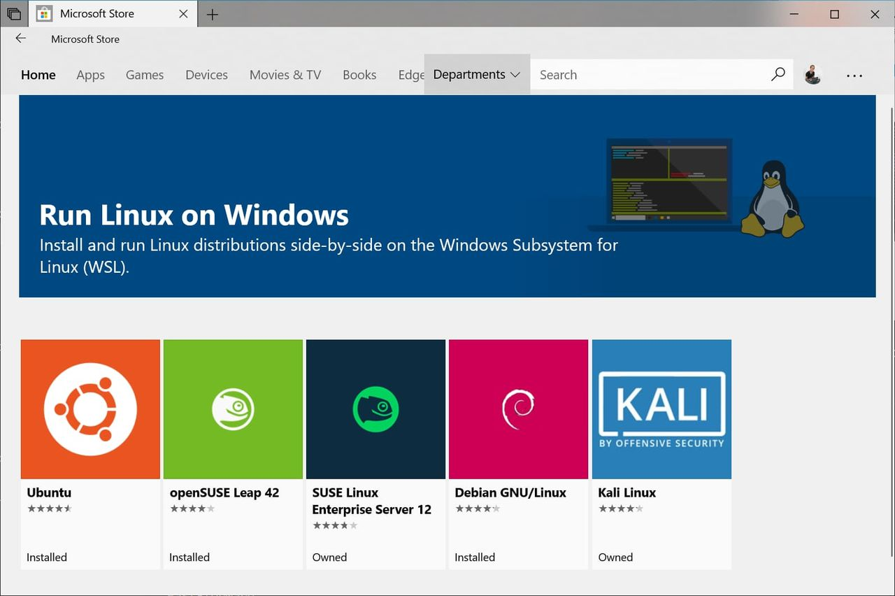 Bättre Linux-integrering till Window på gång
