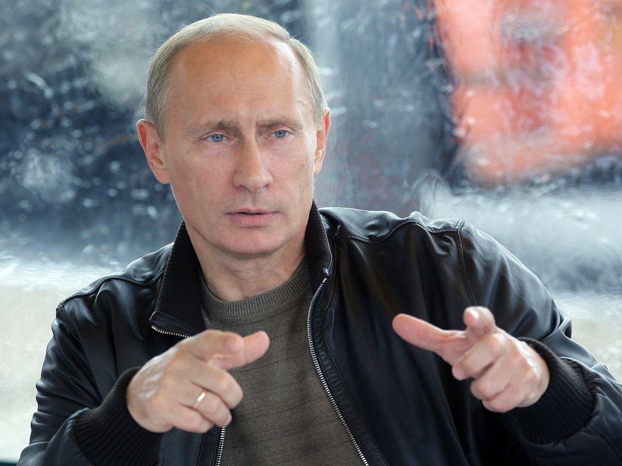 Putin: Ryssland måste bygga ett eget internet