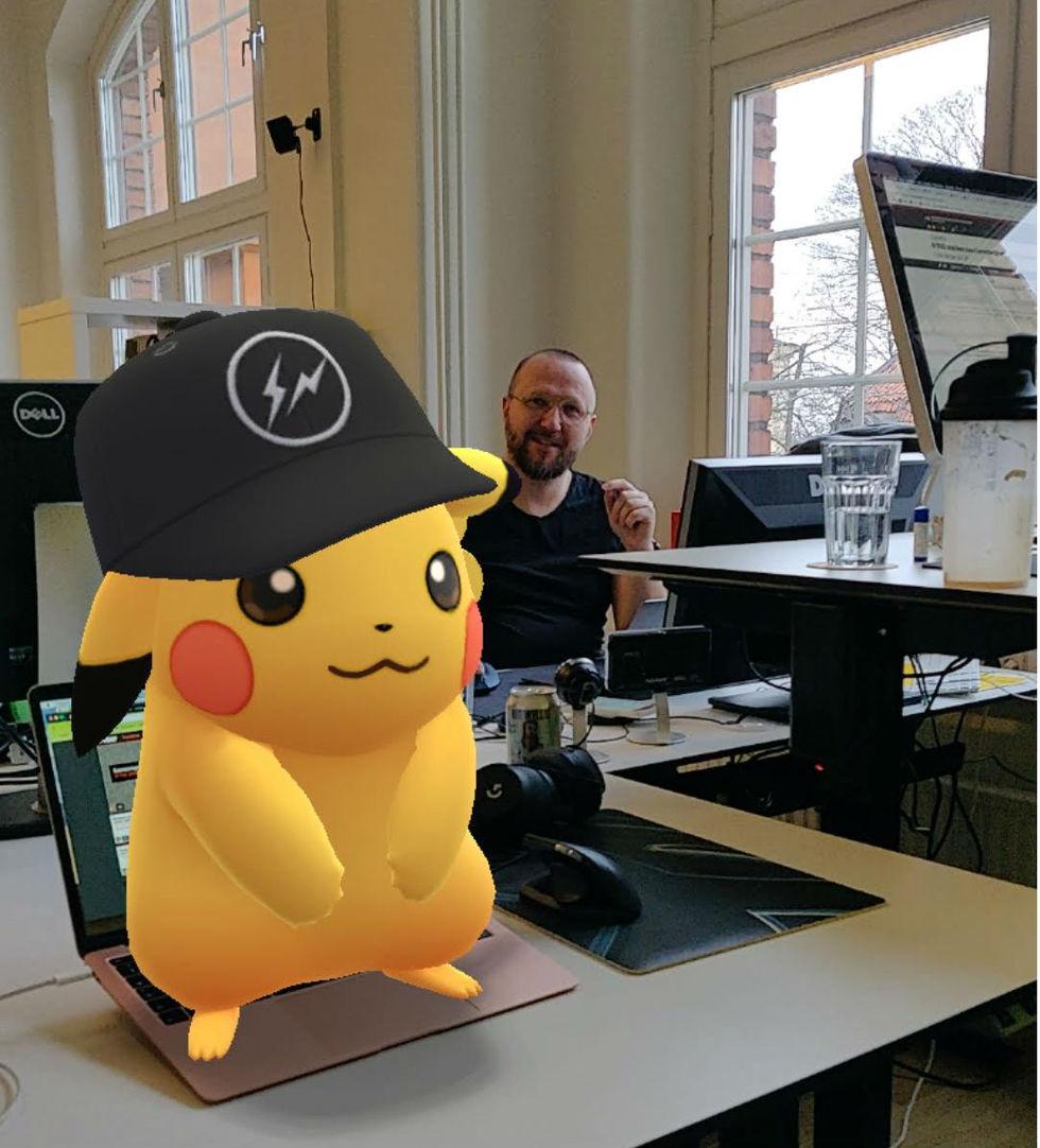 Pokémon Go får nytt AR-läge på Android