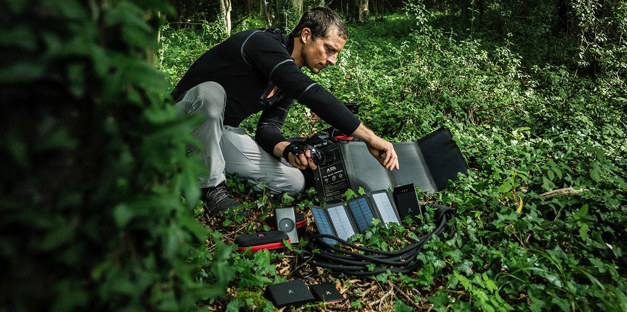 Bear Grylls lanserar gadgets för friluftsmänniskor