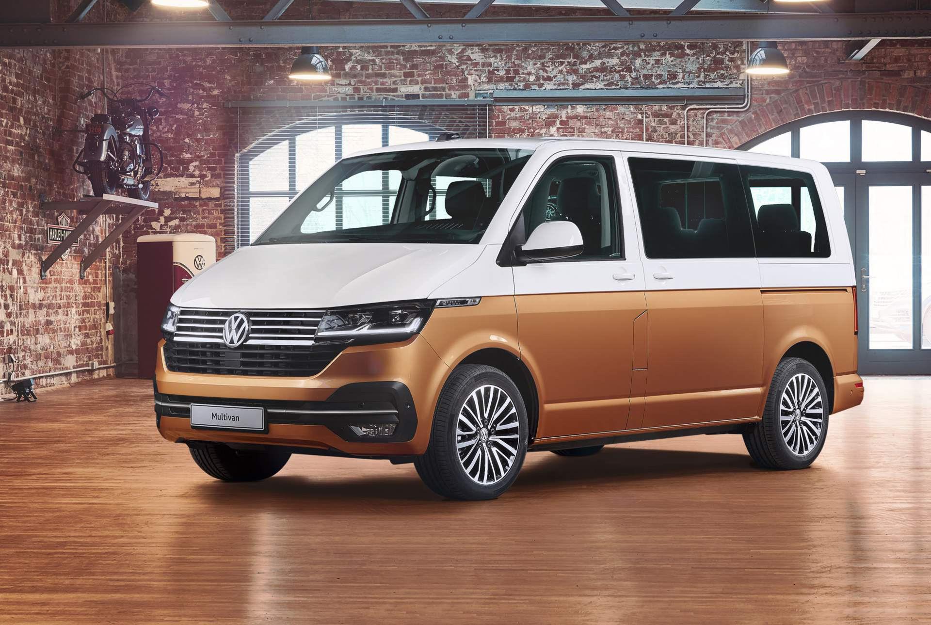 Volkswagen lyfter skåpbilen Multivan