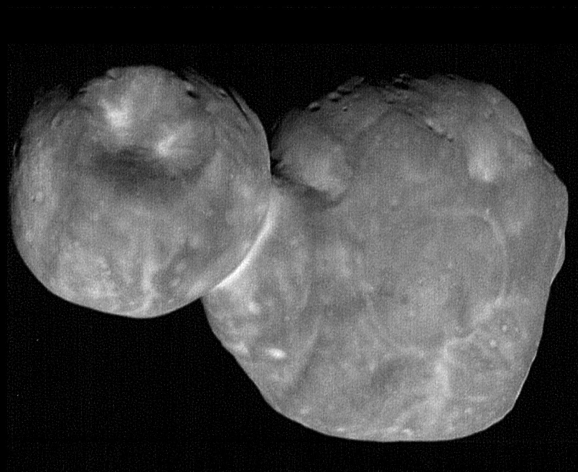 NASA publicerar ny bild på Ultima Thule