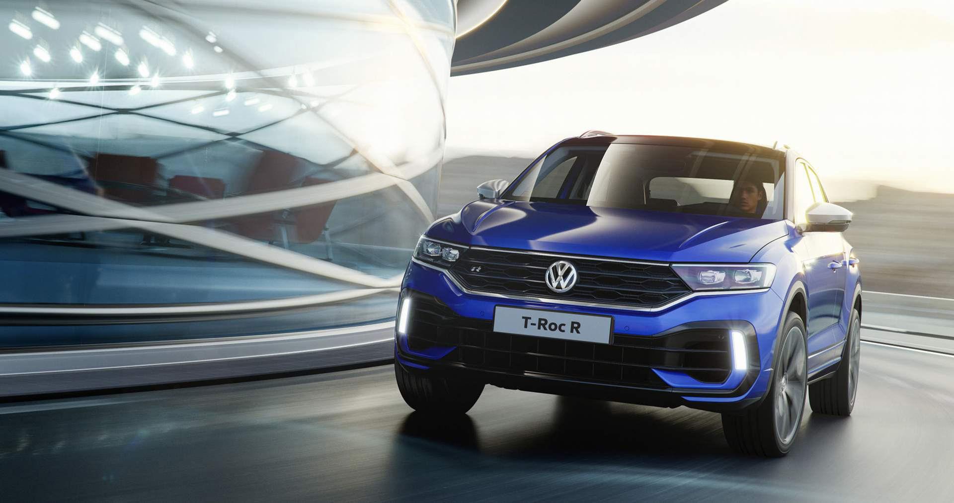 Volkswagen rullar ut T-Roc R