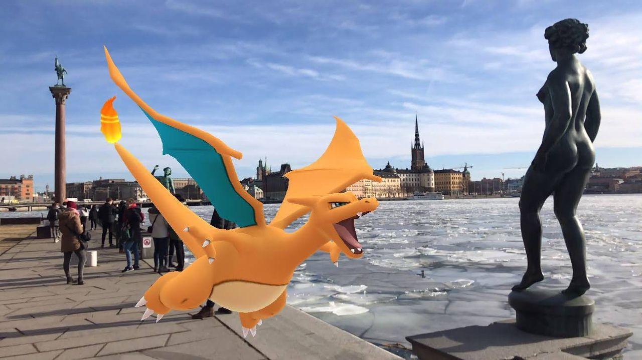 Nu är Pokémon Go:s nya AR-fotofunktion lanserad till iOS