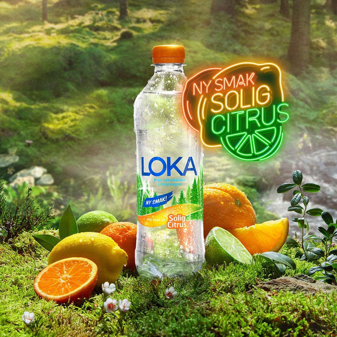 Loka presenterar Solig Citrus