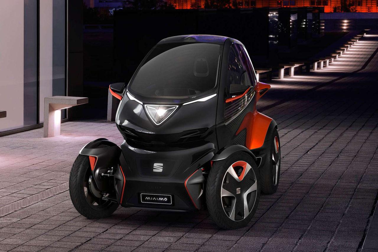 Seat presenterar en utmanare till Renault Twizy