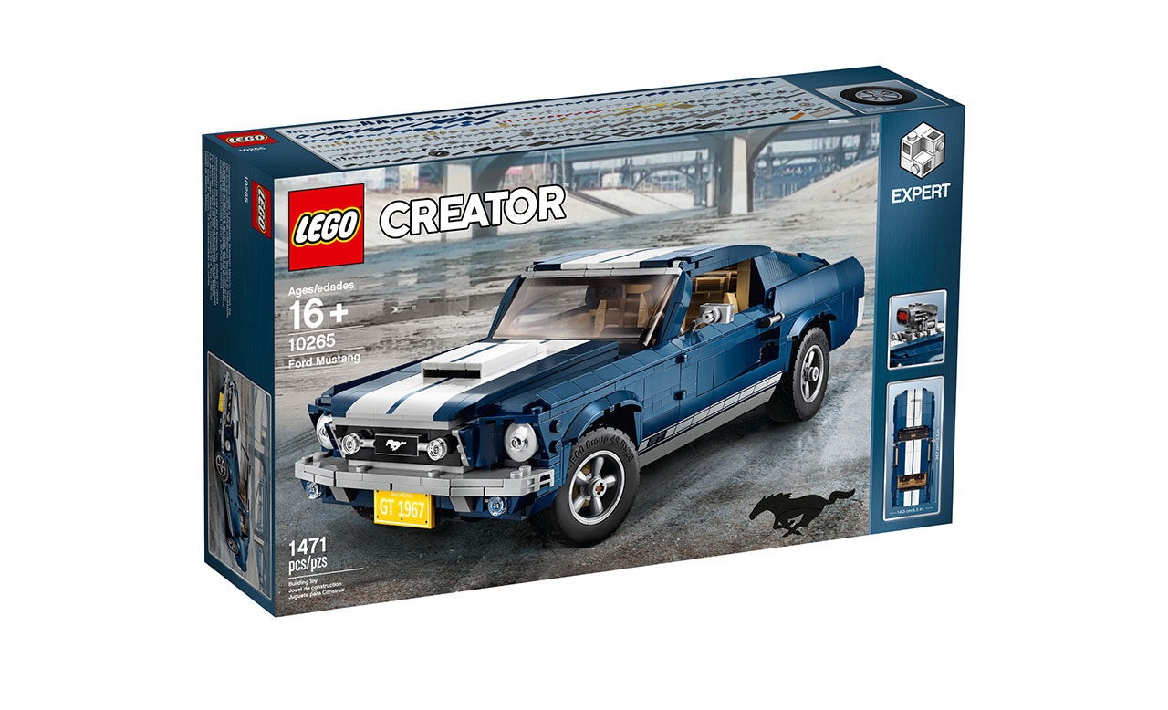 Lego släpper klassisk Ford Mustang från 1967