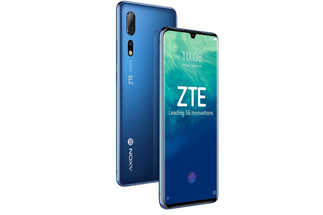 ZTE visar upp sin första 5G-mobil
