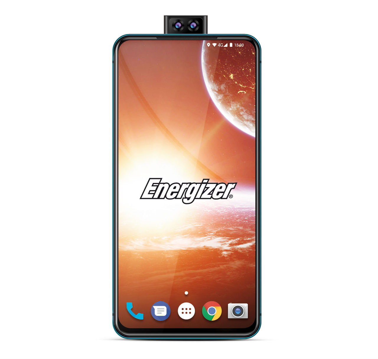 Energizer visar upp telefon med bisarrt stort batteri