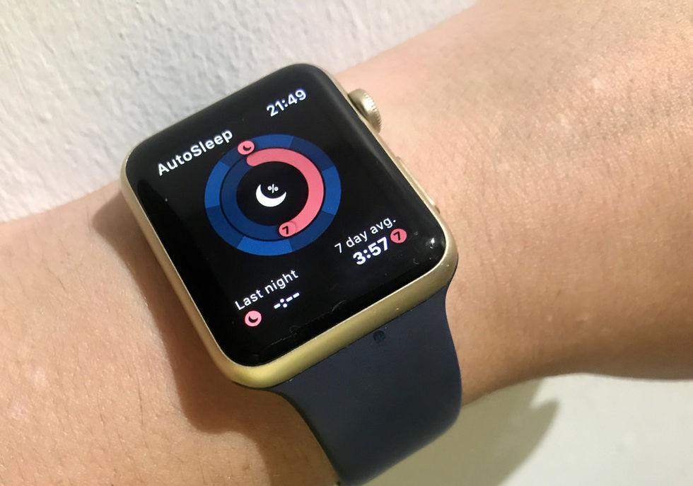 Apple ryktas ha börjat testa att mäta sömn med Apple Watch