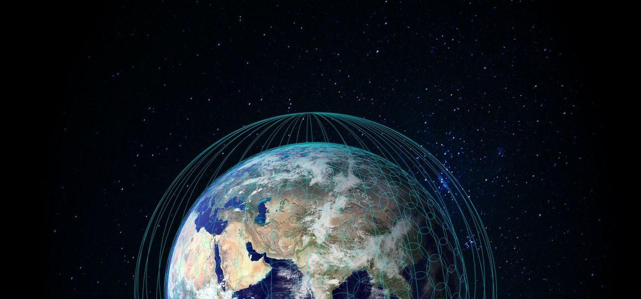 Idag börjar OneWeb och Airbus bygga rymdinternet på riktigt