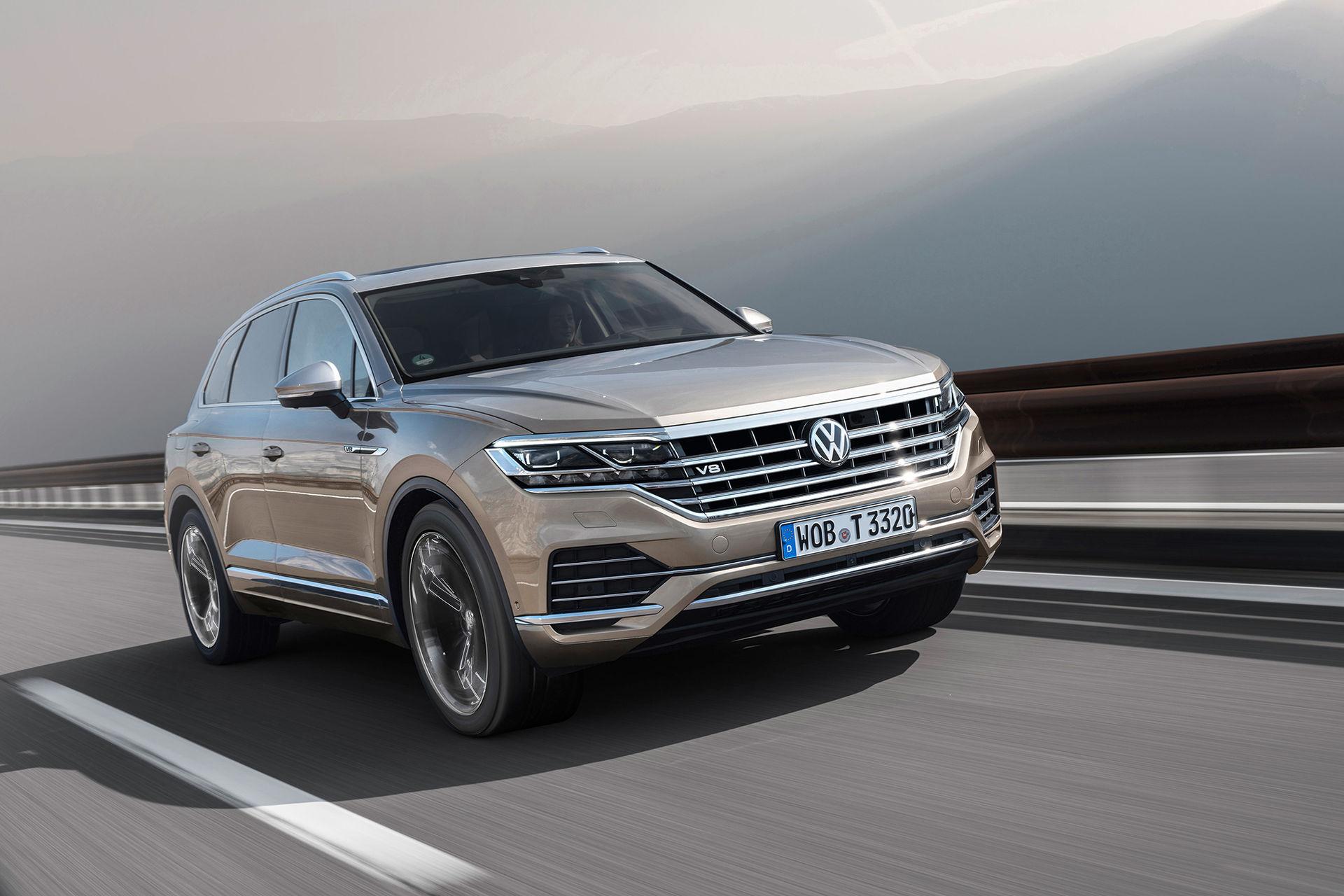 Dieseldriven V8:a till nya Volkswagen Touareg