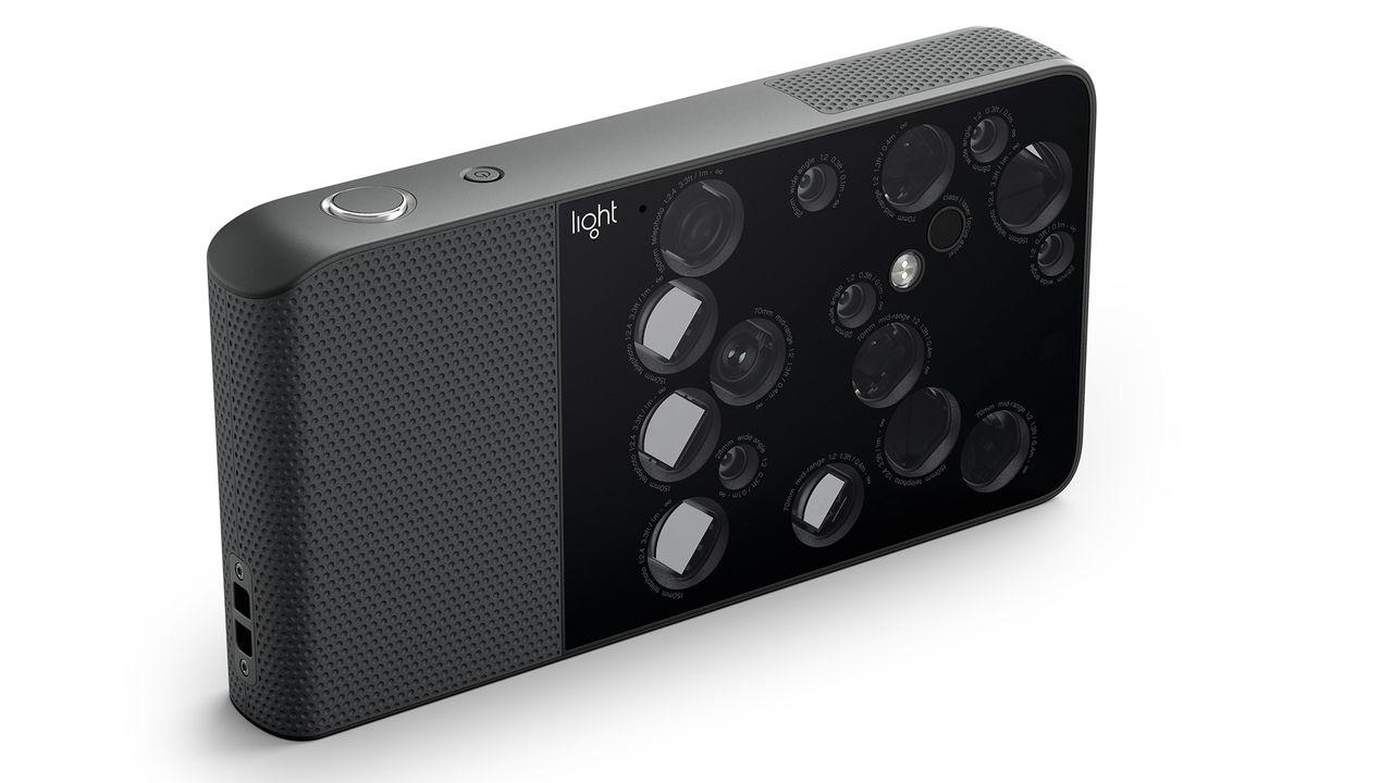 Kameran L16 har 16 inbyggda objektiv