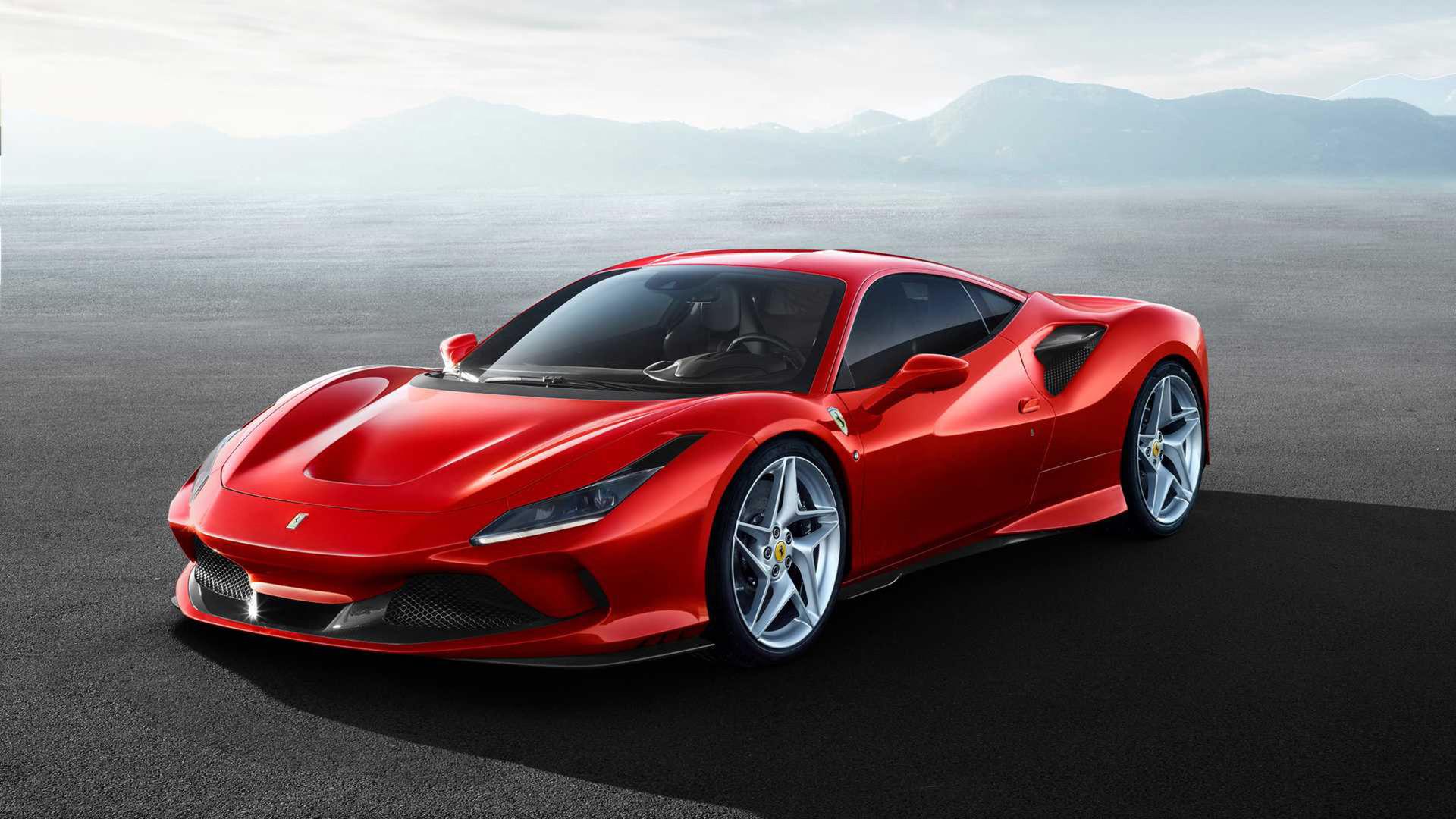 Ferrari presenterar F8 Tributo