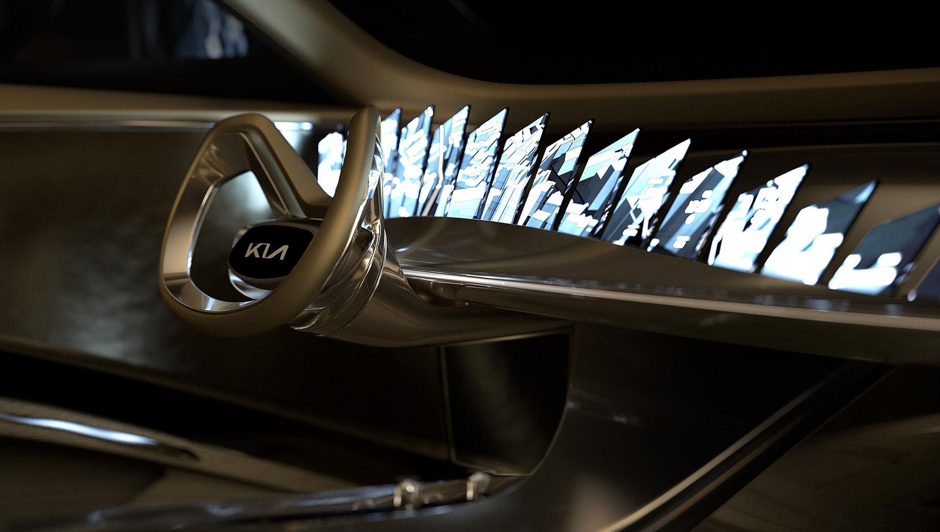Kias eldrivna konceptbil har 21 stycken skärmar