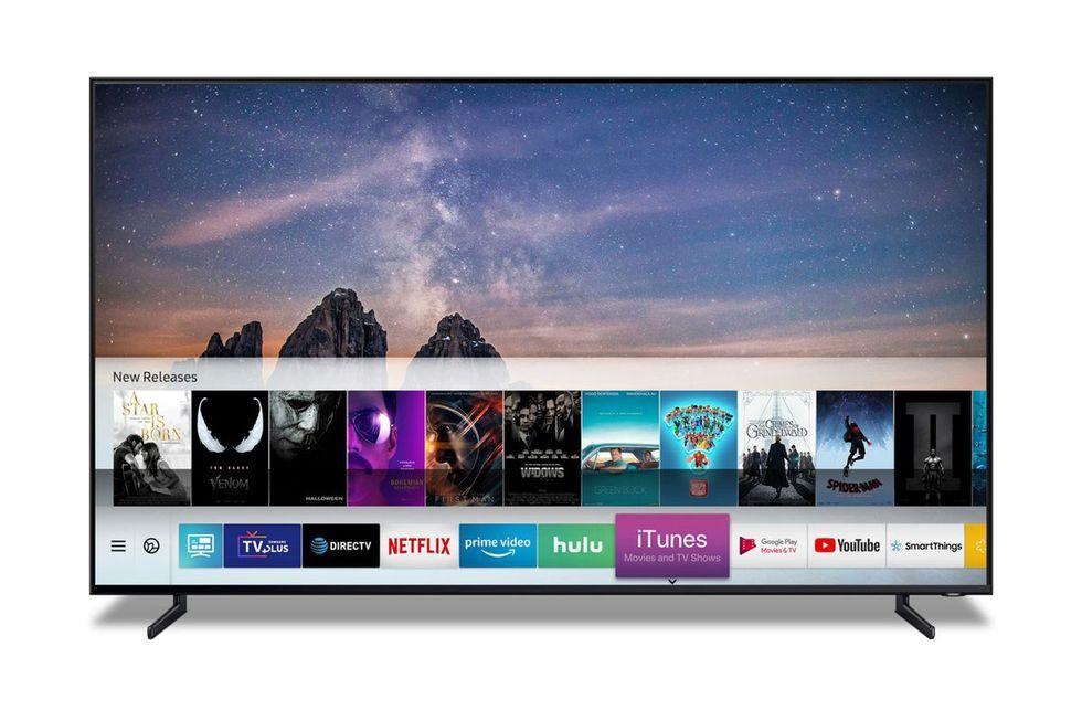 Samsungs tv-apparater kommer med virusskydd från McAfee
