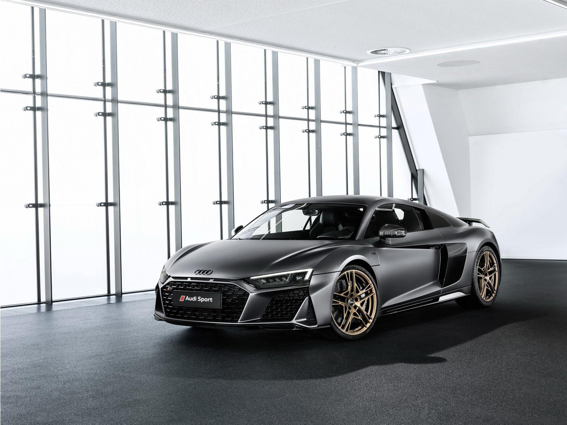 Audi hyllar V10:an med specialversion av R8