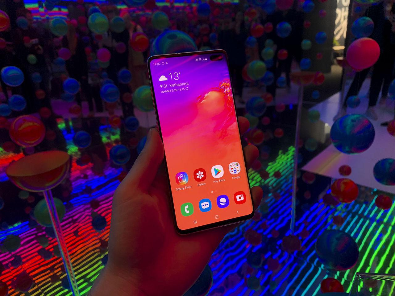 Samsung skickar med skärmskydd till Galaxy S10