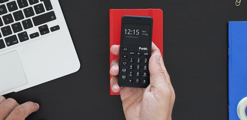 Punkt MP02 är en mobil för de som tröttnat på nätet