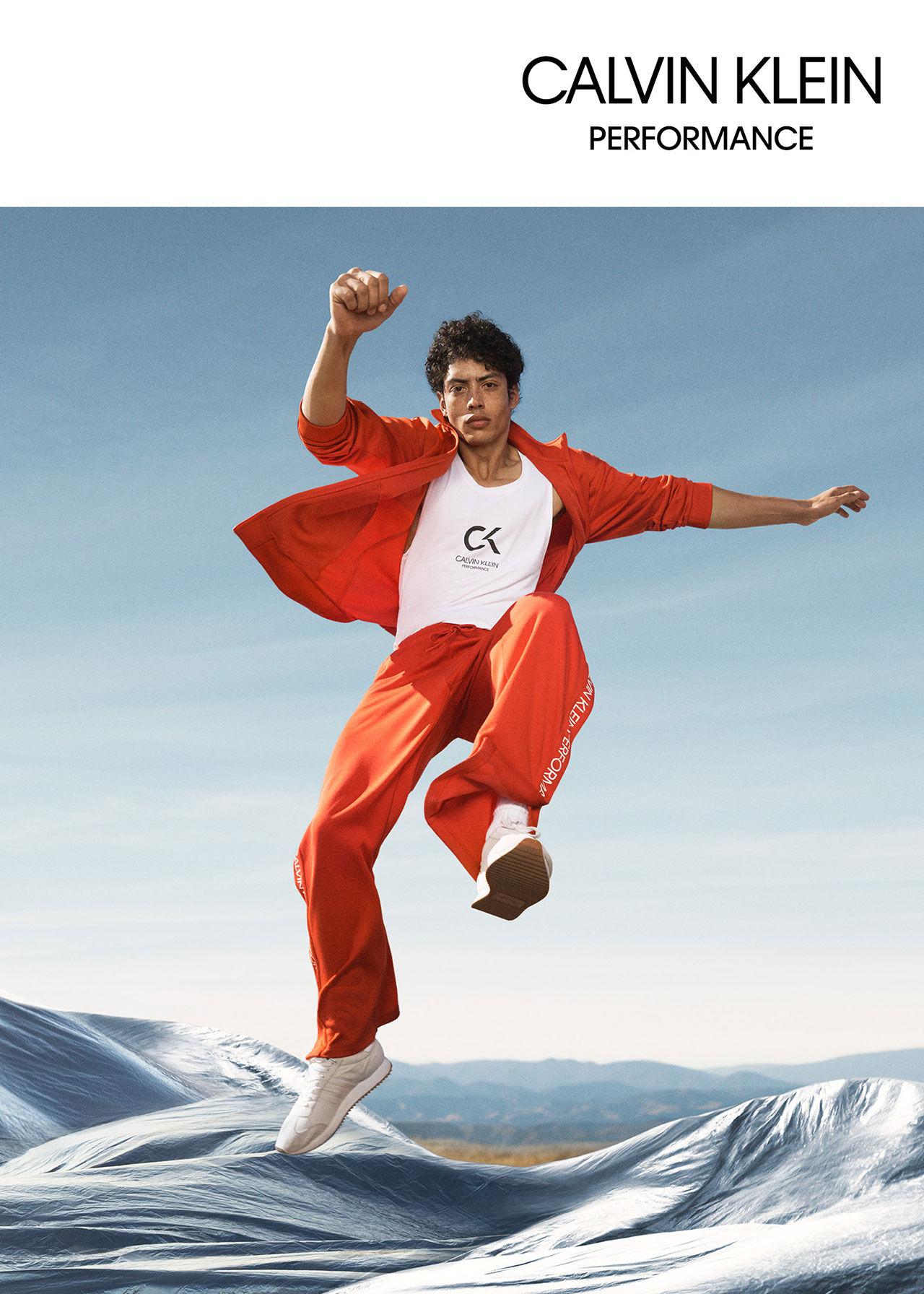 Ny kollektion med träningskläder från Calvin Klein