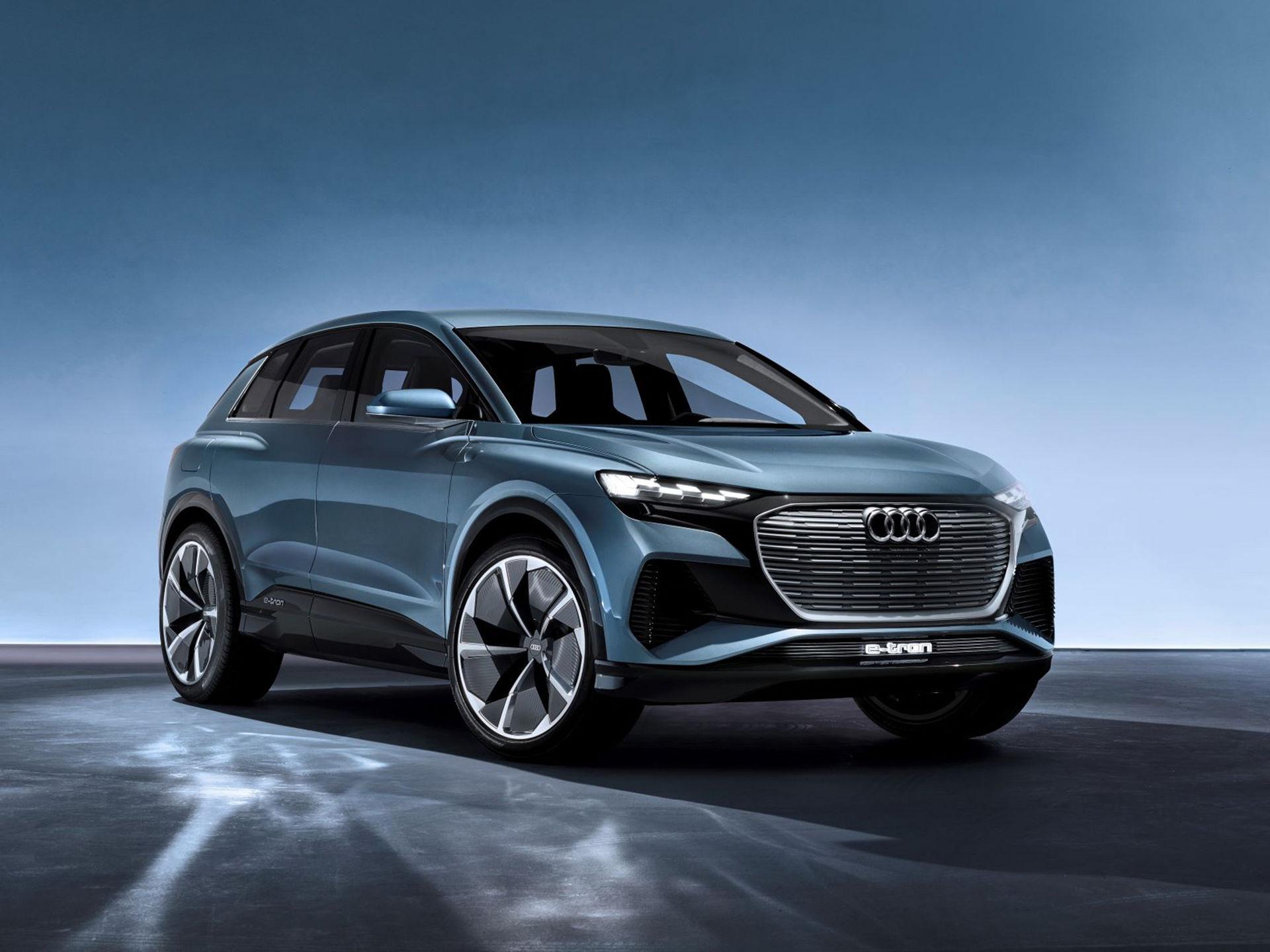 Audi presenterar eldrivna Q4 e-tron