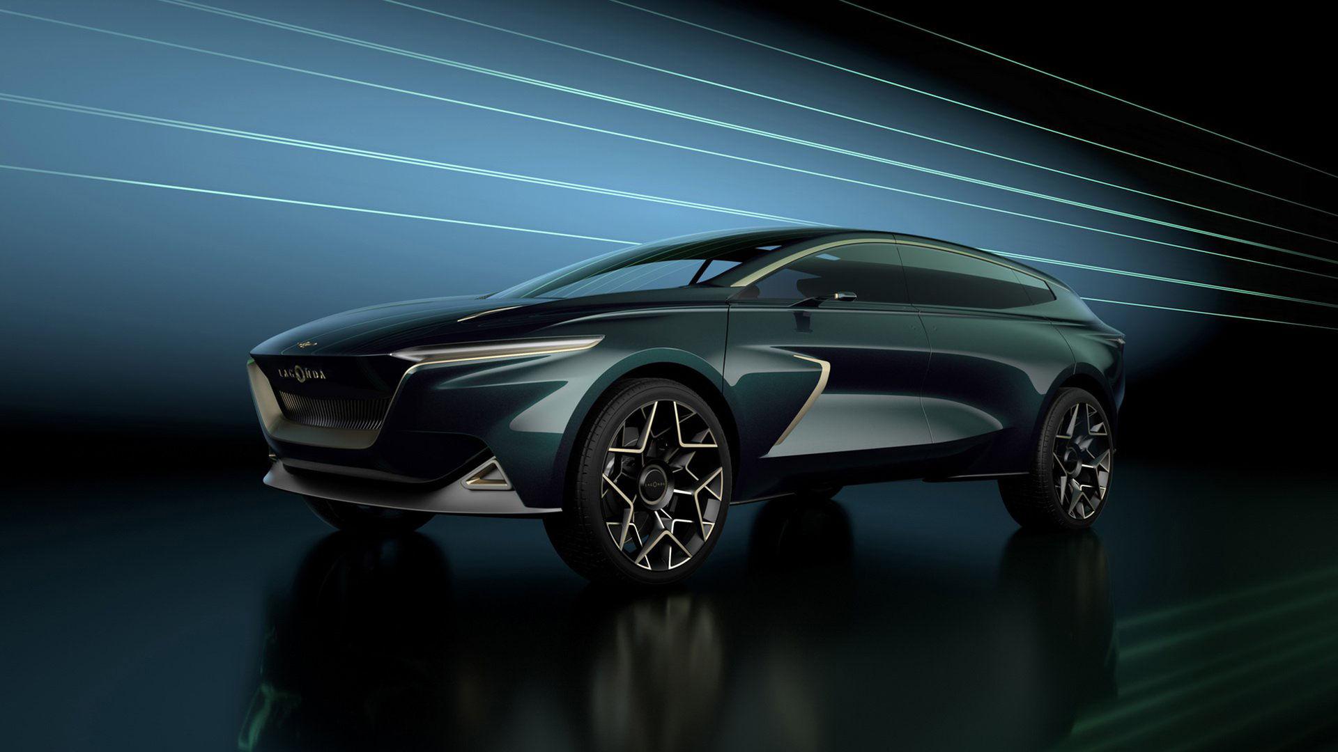 Lagonda - stor eldriven SUV från Aston Martin