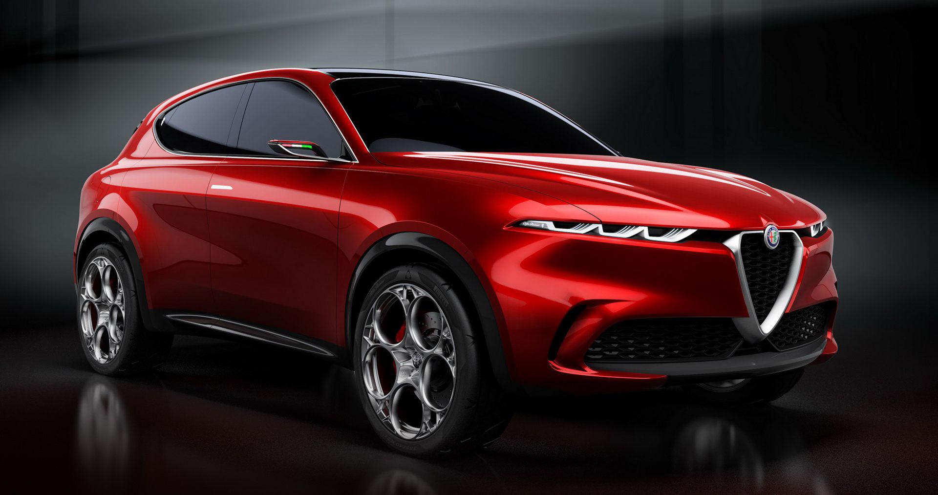 Alfa Romeo presenterar mindre SUV