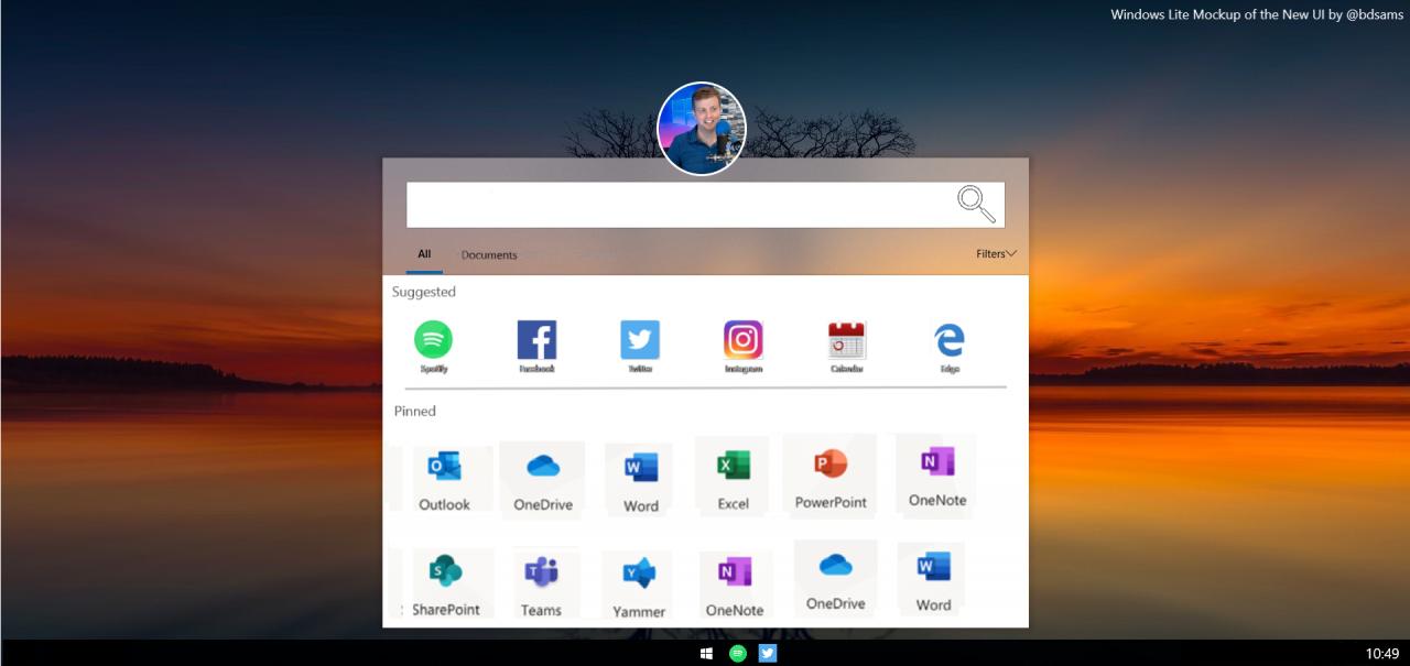 Microsoft ryktas arbeta på Windows Lite